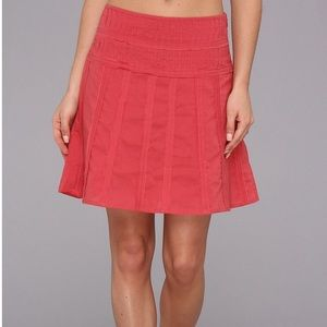 Prana Erin Skirt size 10 Dusty Rose NWT